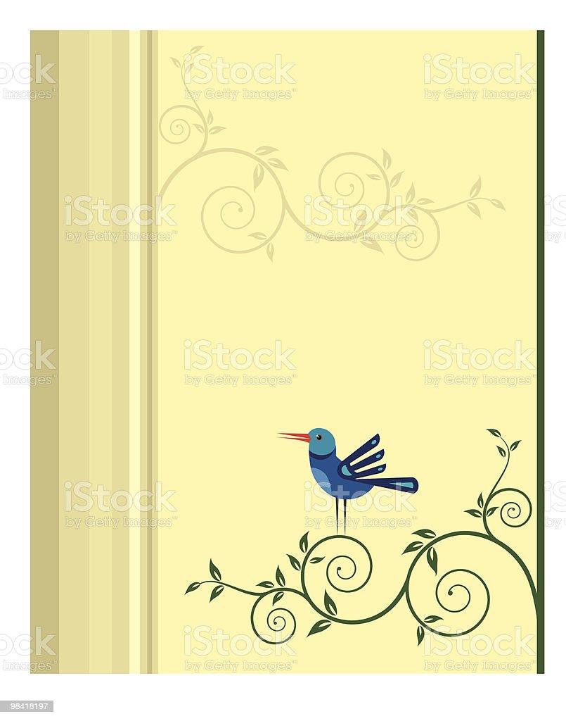 Artistico uccelli, fiori, artistico uccelli fiori - immagini vettoriali stock e altre immagini di albero royalty-free