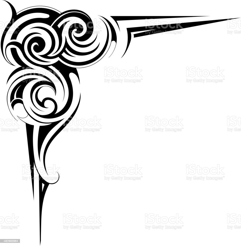 artistic frame border stock vector art more images of abstract rh istockphoto com border vector design vector and border coreldraw