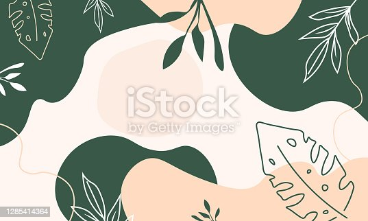 Artistic painted backgrounds illustration