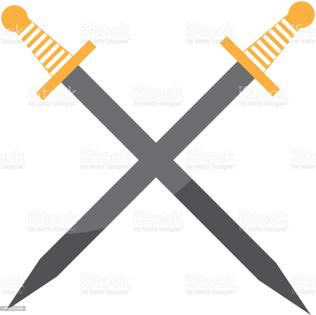 artistic sword isolated icon royalty-free artistic sword isolated icon stock vector art & more images of ancient