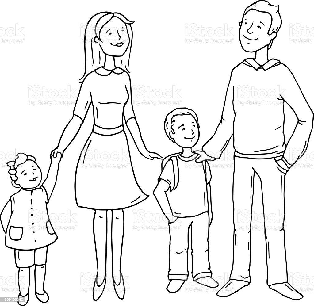 Как нарисовать картинку для мамы и папы