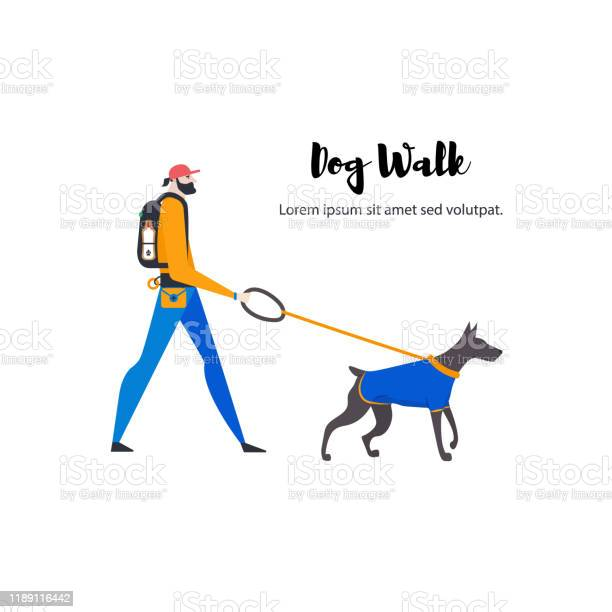 Artoon style icons of dobermann and personal dogwalker with text vector id1189116442?b=1&k=6&m=1189116442&s=612x612&h=wnrwqmjfelyennqfjrutvvpshddoxsdw0 jyz7z 71y=