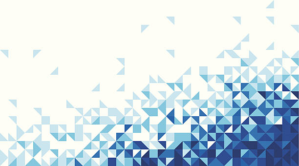 arts backgrounds - triangle shape stock illustrations