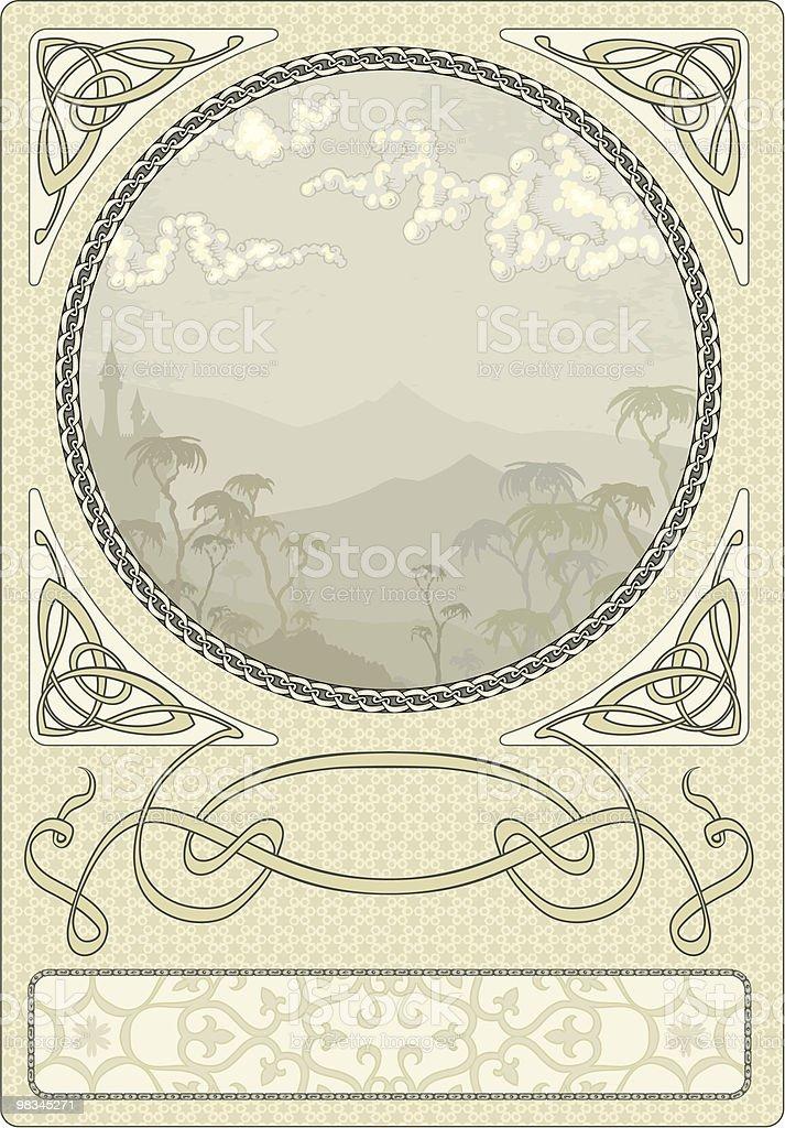 Arty Nouveau Frame