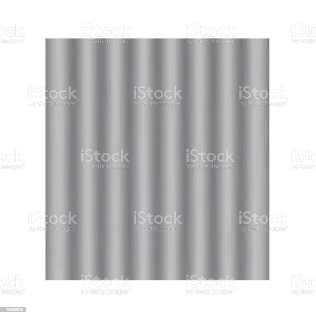Asbestos roof vector vector art illustration