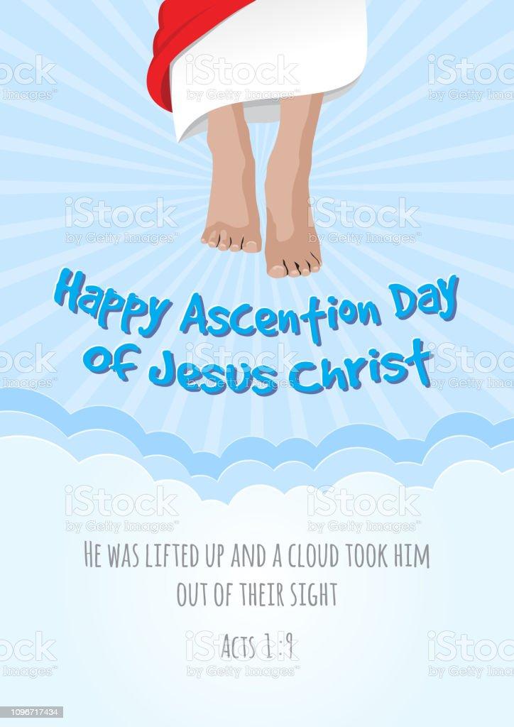 Ascension Day Of Jesus Christ Stock Illustration Download Image
