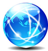 Asia and Australia, Global Communication Planet Data