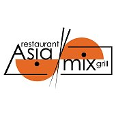 AsiaMix on a white background