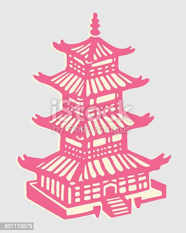istock Asian Building 531110579
