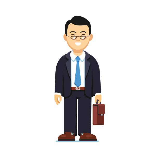 Royalty Free Chinese Businessman Clip Art, Vector Images ...