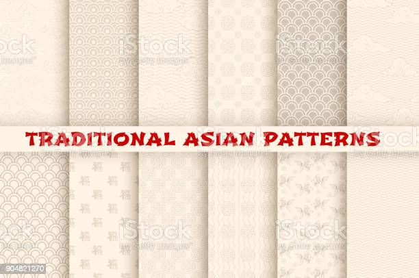 Asian chinese japanese vector seamless patterns vector id904821270?b=1&k=6&m=904821270&s=612x612&h=otndoanlyvcpou862fwjrn2pkkow 9bipwszwe zlti=