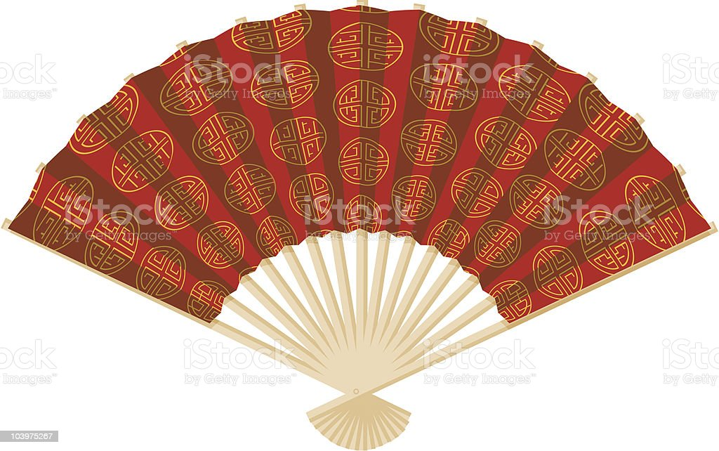 Asian Fan Icon royalty-free asian fan icon stock vector art & more images of art and craft