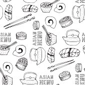 Asian menu