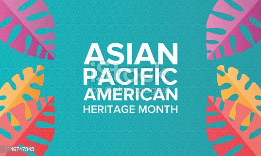 istock Asian Pacific American Heritage Month. Celebrated in May. It celebrates the culture, traditions, and history of Asian Americans and Pacific Islanders in the United States. Poster, card, banner and background. Vector illustration 1146747343