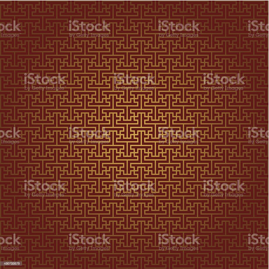Asian Seamless Pattern royalty-free stock vector art