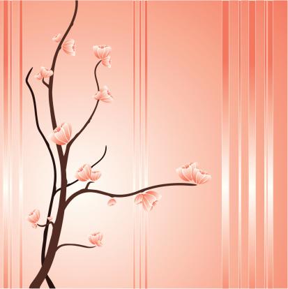 Asian theme flowers