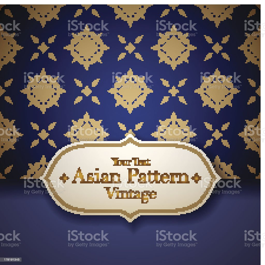 Asian  tradition art pattern. royalty-free asian tradition art pattern stock vector art & more images of art