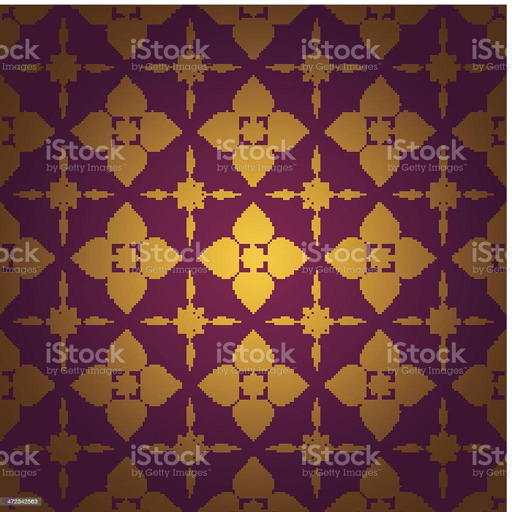 Asian  tradition pattern. vector art illustration