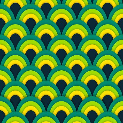 아시아 벡터 원활한 추상 패턴 0명에 대한 스톡 벡터 아트 및 기타 이미지