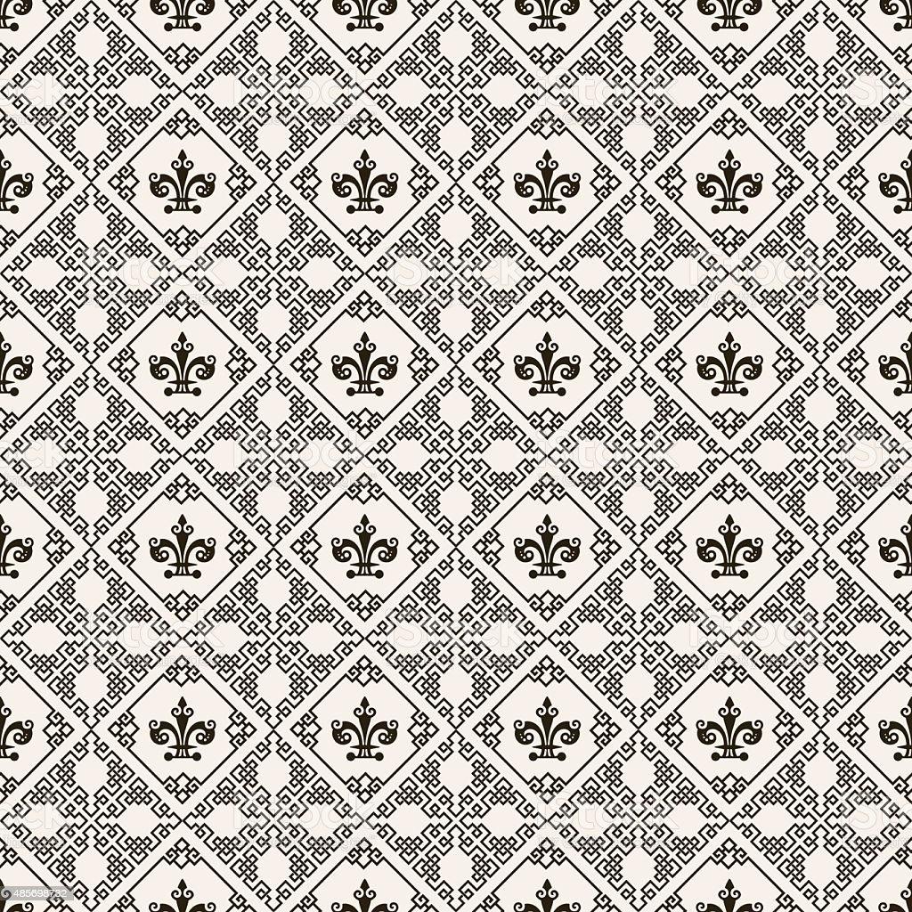 tapete muster free stock bild von unahtlose schwarze with. Black Bedroom Furniture Sets. Home Design Ideas