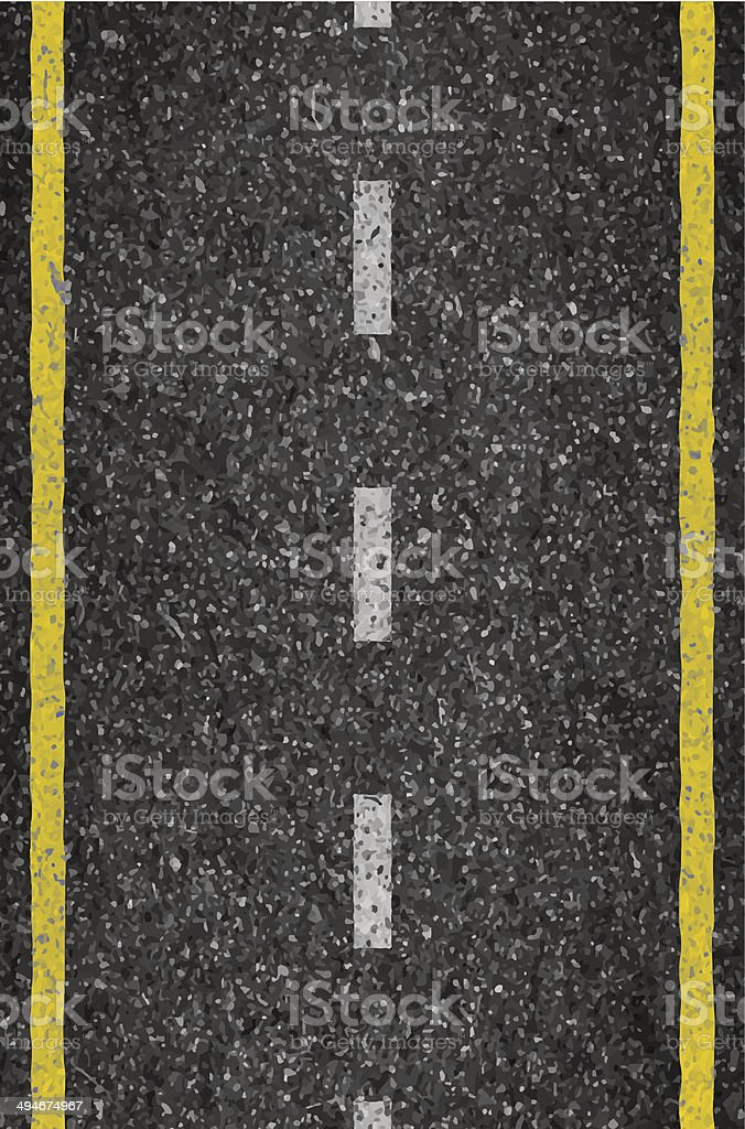 Asphalt background texture with some fine grain in vector art illustration