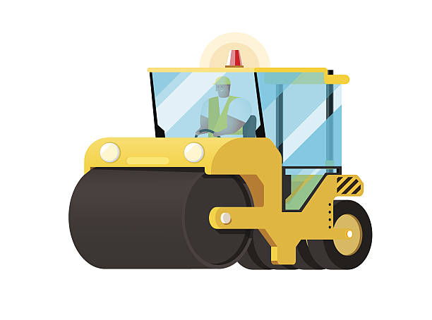 Royalty Free Steamroller Clip Art Vector Images