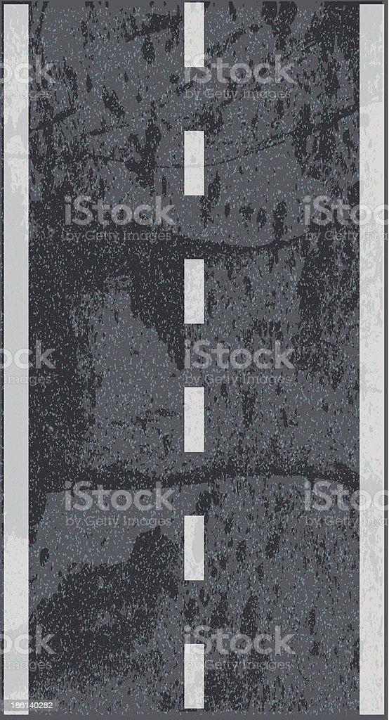 Asphalt road texture royalty-free stock vector art
