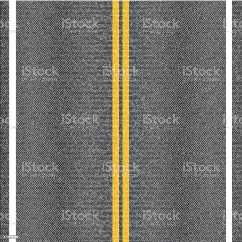 Asphalt road royalty-free stock vector art