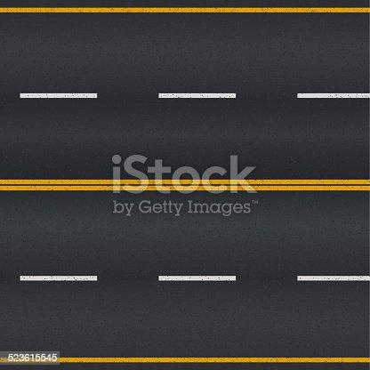 istock Asphalt road. 523615545