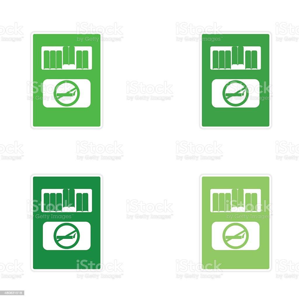 Assemblea Adesivo Bianco Disegno Su Carta Pacchetto Di Sigarette