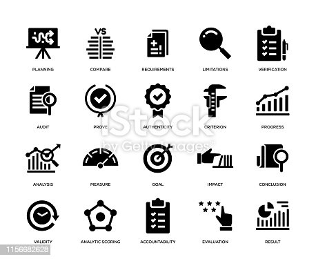 Assessment Icon Set