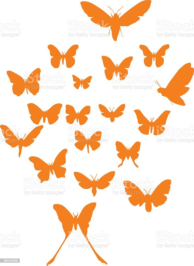 Assorted butterflies to use in your design royalty-free assorted butterflies to use in your design stock vector art & more images of animal