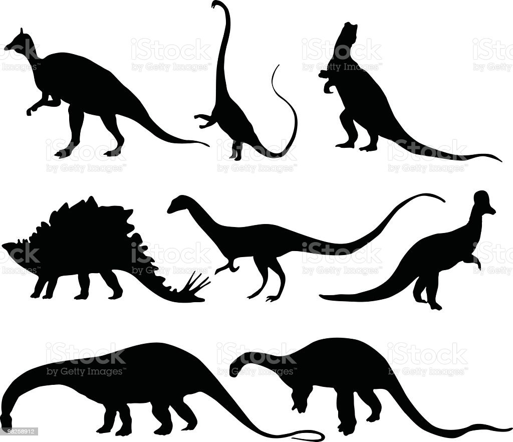 Assorted Dinosaurs to use in your design royalty-free assorted dinosaurs to use in your design stock vector art & more images of animal