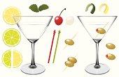 istock Assorted Martini Elements 165064058