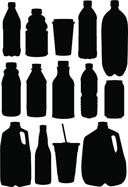 illustrazioni stock, clip art, cartoni animati e icone di tendenza di le bevande - bottle soft drink