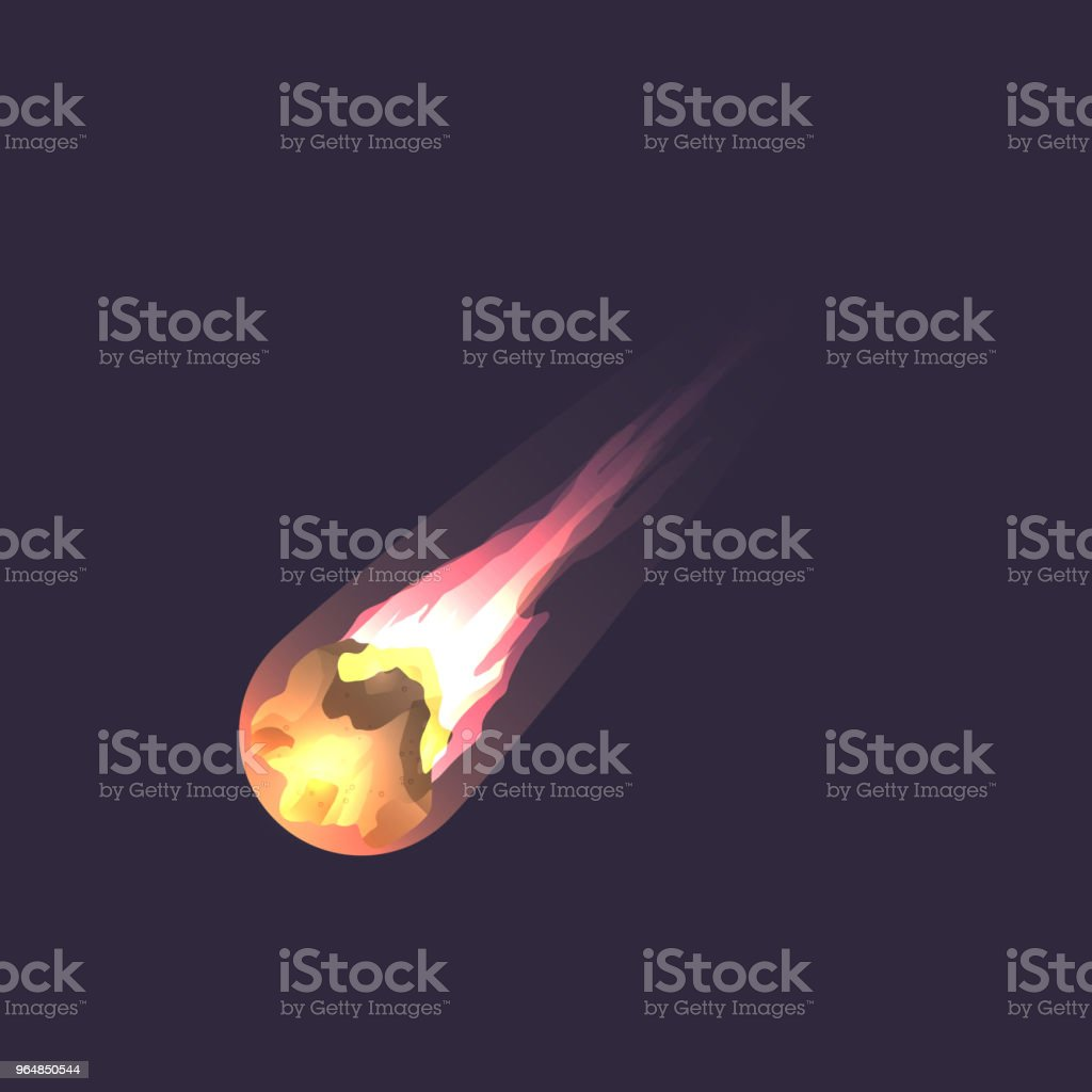 Asteroid in deep space icon royalty-free asteroid in deep space icon stock vector art & more images of asteroid