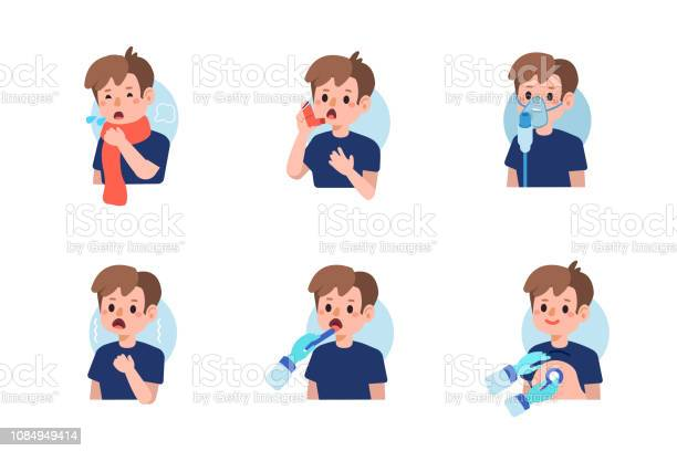 Asthma Stock Illustration Download Image Now Istock