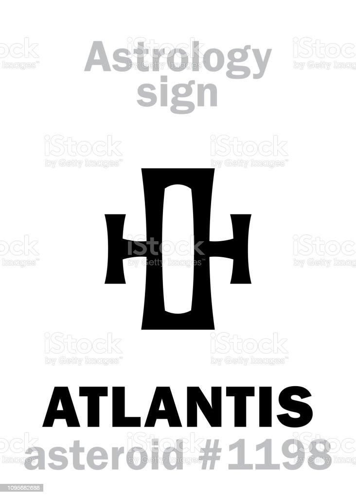 Astrology Alphabet Atlantis Asteroid 1198 Hieroglyphics