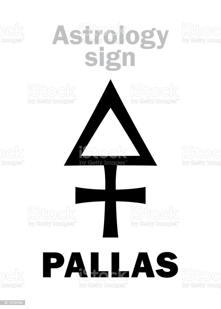 Fast-Flood Astrology-alphabet-pallas-classic-asteroid-hieroglyphics-character-vector-id911379194