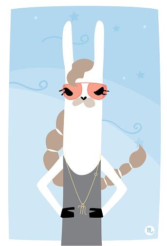 Astrology Llama Scorpio