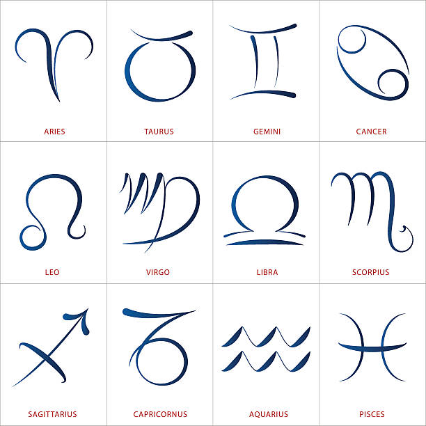 Royalty Free Capricorn Text Symbol Drawing Clip Art Vector Images