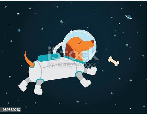 Astronaut Dachshund