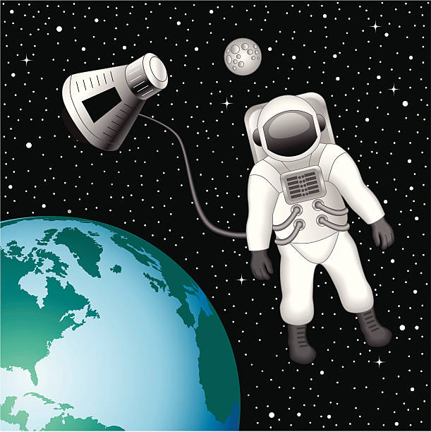 astronaut floating in space clipart - photo #20