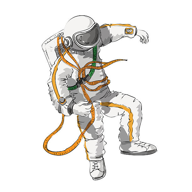 astronaut floating in space clipart - photo #37