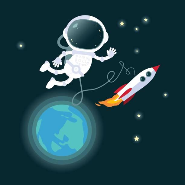 astronaut in space vector art - photo #12