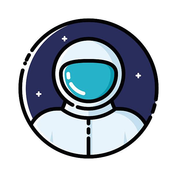 astronaut in space vector art - photo #42
