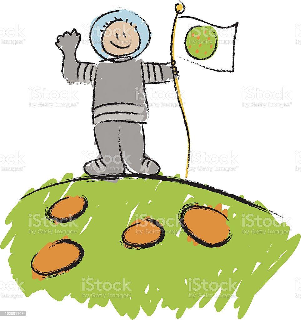 Astronauta Bambino Disegno Immagini Vettoriali Stock E Altre
