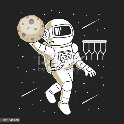 Astronaut Space Dunk