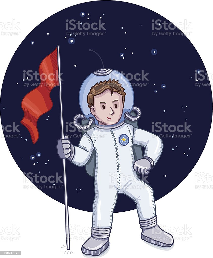 Astronaut royalty-free astronaut stock vector art & more images of adult