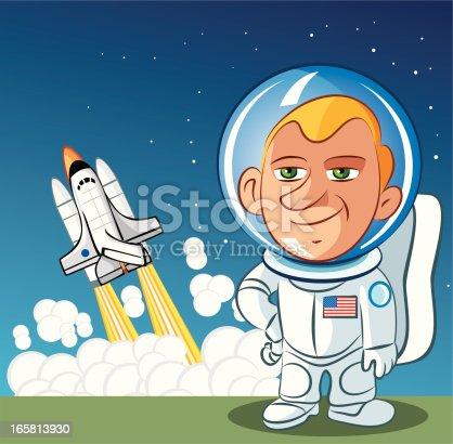 Vector Astronaut